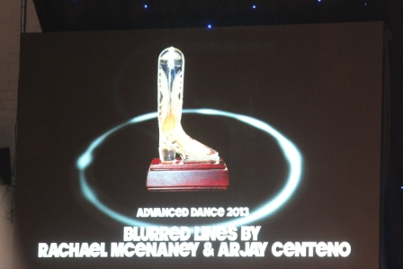 Blurred Lines : Award Choré Avancée