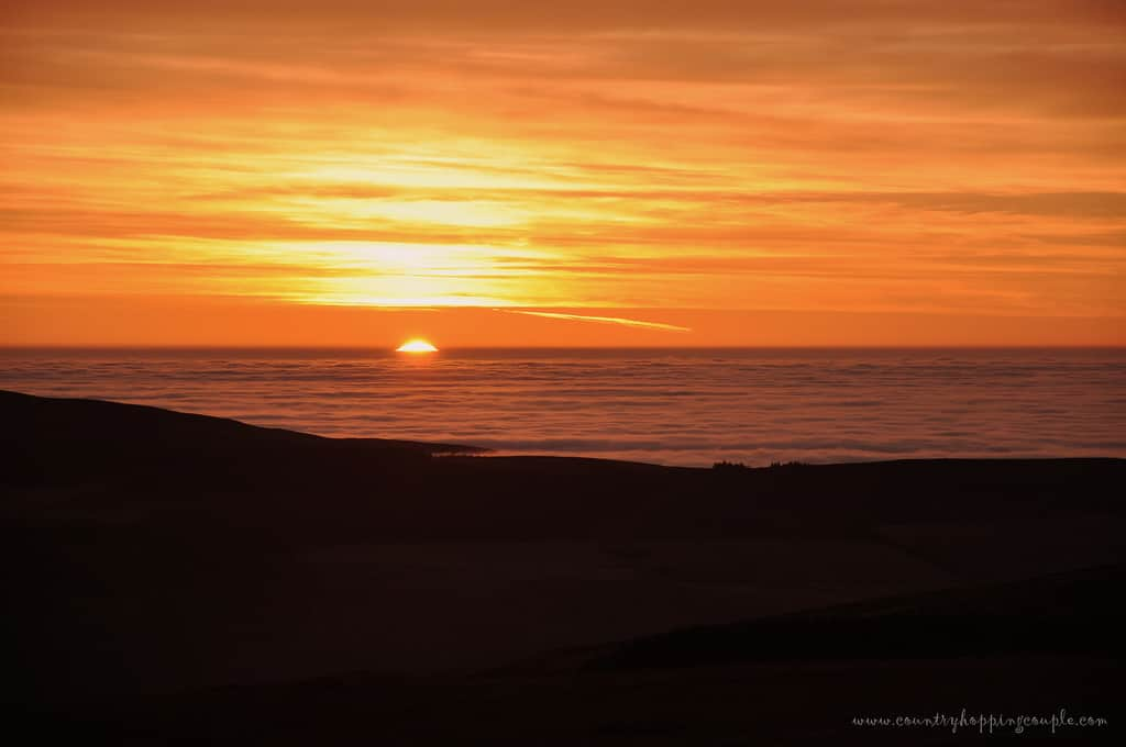 Photo Of The Week: Sunset Moments, Isle of Man