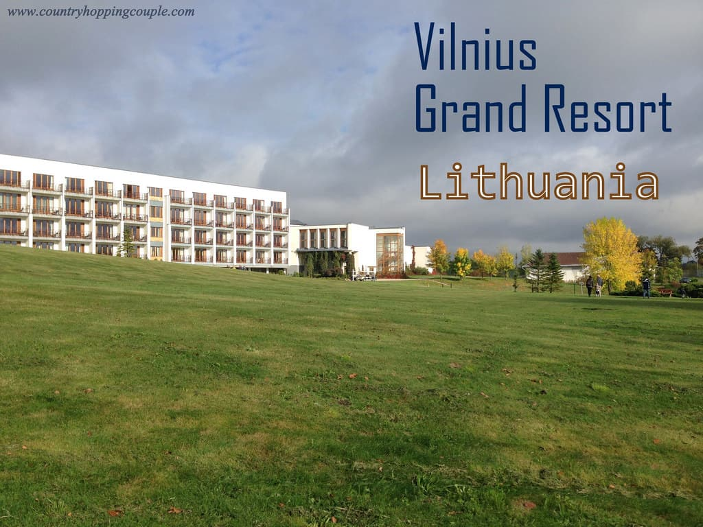 Vilnius Grand Resort, a luxury country estate in Lithuania