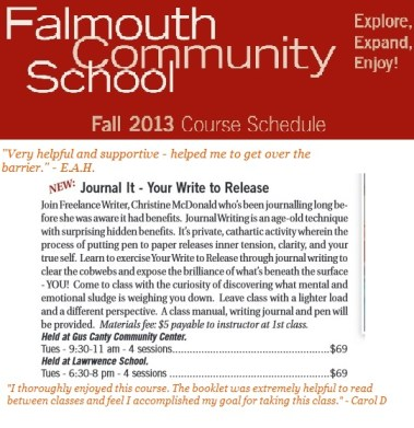 2013-Falmouth-Community-School-Journal-It-Write-to-Release