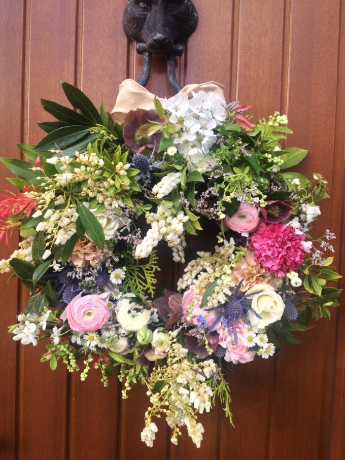 Floral garland for a wedding
