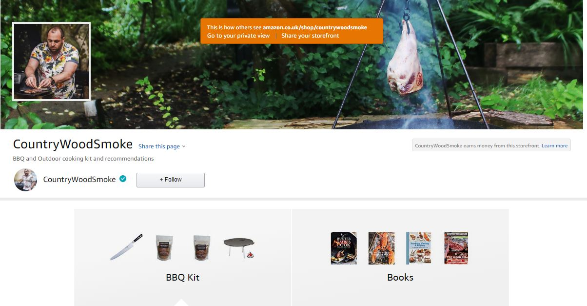 CountryWoodSmoke BBQ UK Amazon Store