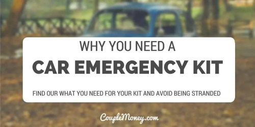 Learn how you can quickly and easily assemble a car emergency kit so you're not stranded on the side of the road!
