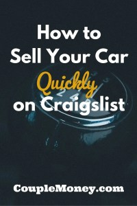 how to sell your car quickly on craigslist. Black Bedroom Furniture Sets. Home Design Ideas