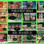 Publix BEST deals 8/24 - 30 or 8/25 -31 ~ It's gas card week! Lots of great deals under $1!