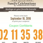 NEW Family Celebrations PUBLIX PRINTABLE COUPON BOOK!