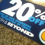 "Bed, Bath & Beyond to Coupons: ""We Hate You, But We Need You"""