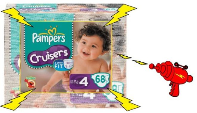 Shrunken Pampers