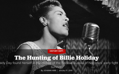 The Hunting of Billie Holiday by Johann Hari