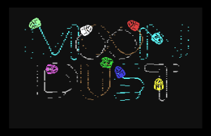 """Jaron Lanier's music/art game """"Moon Dust"""" for the Commodore 64 (1982)"""