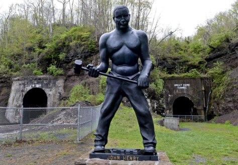 Statue of John Henry, Talcott, WV