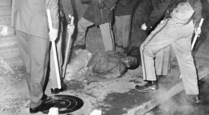 Orangeburg Massacre of African American College Students by Police