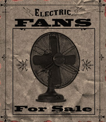 Faux Vintage Advertisement