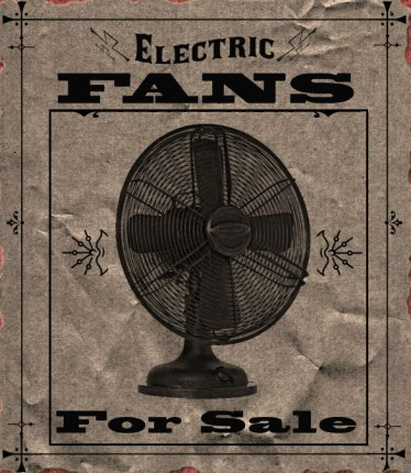 Faux Vintage Advertisement