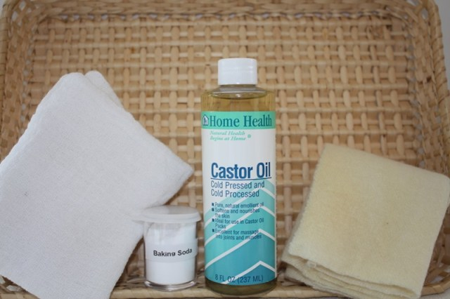 Castor Oil Compress