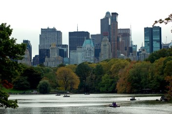 Midtown from Central Park