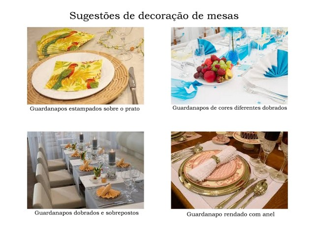 Sugestao decoracao mesa