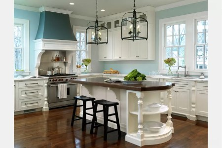 kitchen design ideas all on one wall