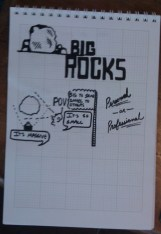 Big Rocks Drawing