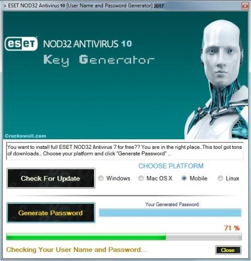 ESET NOD32 10 Keygen