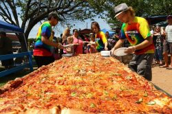 Small Of Worlds Biggest Pizza