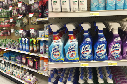 lysol in stores