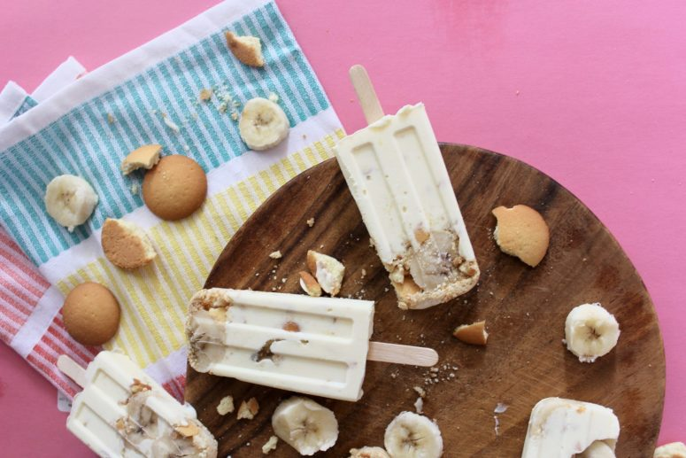 banana pudding popsicles 2