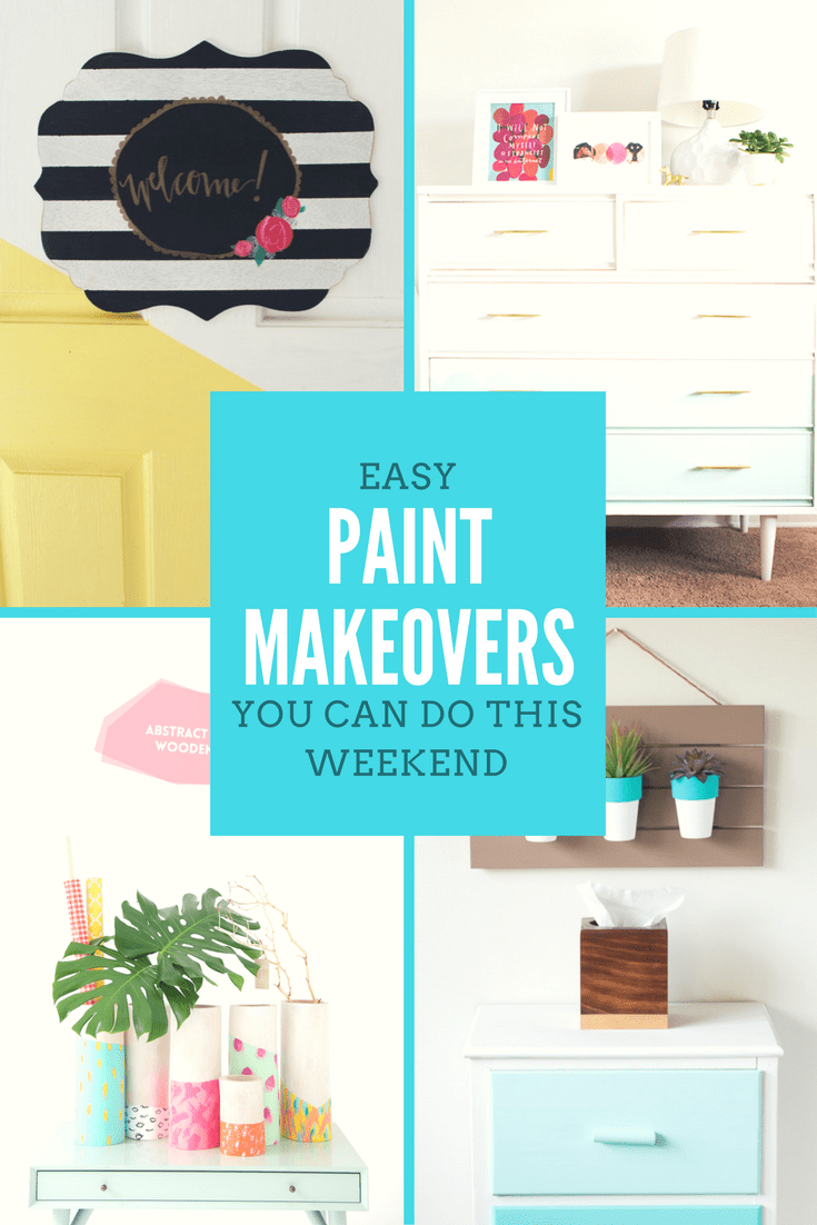 easy paint makeovers easy makeovers with paint