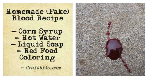 Homemade Fake Blood