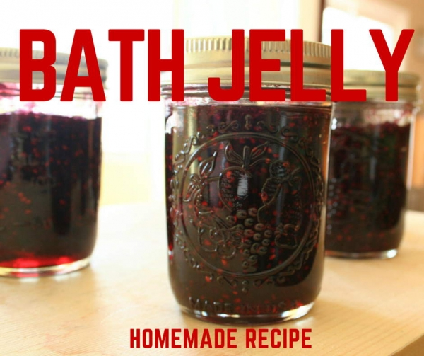 Homemade Bath Jelly Recipe