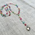 DIY Rosary Necklace