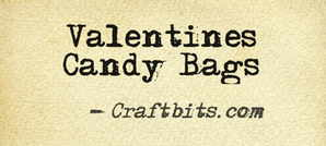 Quick Craft: Valentines Candy Bags