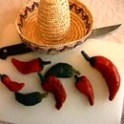 Chili Decorations Made With Dough