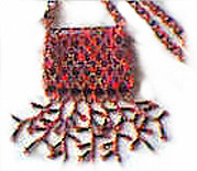 Seed Bead Dangle Fringe