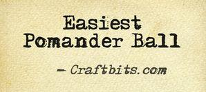 Easy Pomander Ball