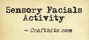 Sensory Facials Activity
