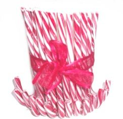 Table Centrepiece – Candy Cane Candle holder