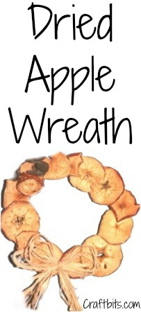 Wreath Made From Dried Apples