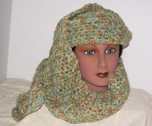 Crochet Patterns For Scarf And Hat : Hascarf: A Hat And Scarf Crochet Pattern ? craftbits.com