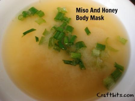Miso & Honey Body Mask
