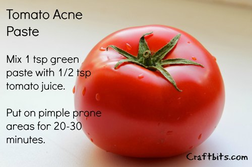 Tomato Acne Paste