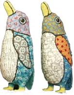 Paper Mache Penguin