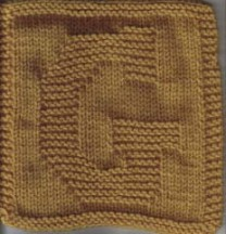 Letter Cloth – G