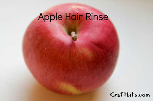 Apple Hair Rinse