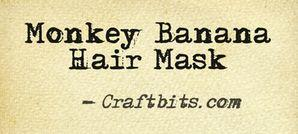 Monkey Banana Hair Mask