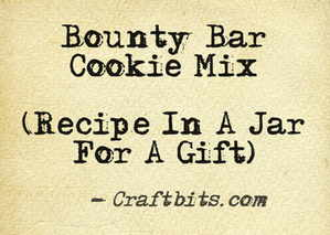 Bounty Bar Cookie Mix