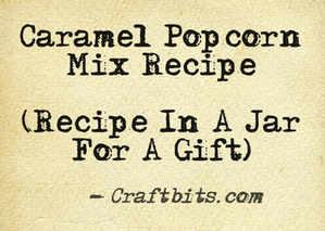 Caramel Popcorn Mix