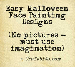 Easy Halloween Face Painting Designs