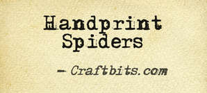 Hand Print Spiders