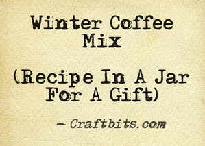 Winter Coffee Mix